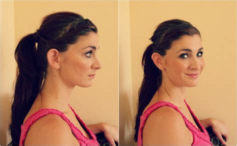 how to keep your hair behind your back 10 creative ways to wear a ponytail ma nouvelle mode