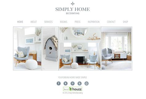simply home decorating 100 interior designer decorator websites portfolio