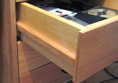 wooden drawer slides wax new way of doing drawer slides without drawer slides