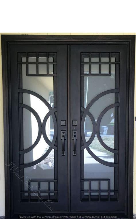 Iron Double Door Main Gate Design