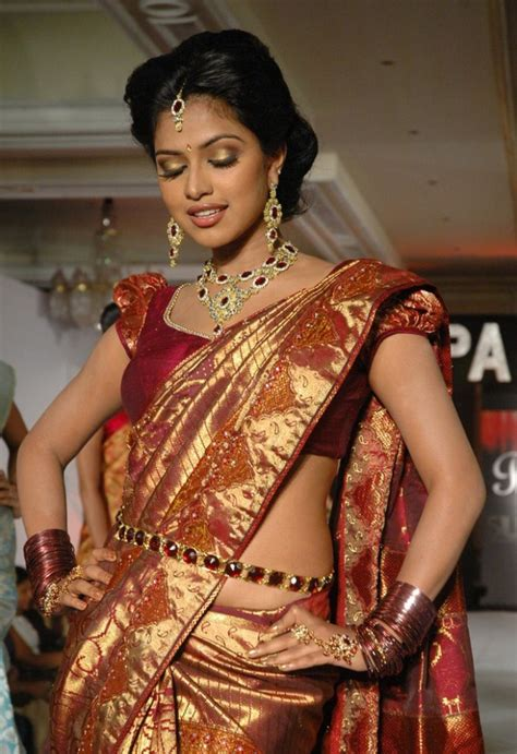tight saree draping amala paul hottest photos