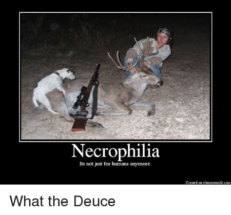 What The Meme - necrophilia its not just for humans anymore created on
