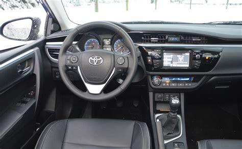 2015 toyota corolla s plus car interior design