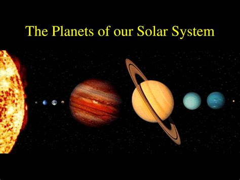 What Is The Closet Planet To The Sun by Science The Solar System And The Way Galaxy