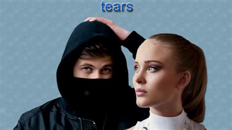 alan walker zara larsson tears alan walker feat zara larsson tears song 2017 youtube