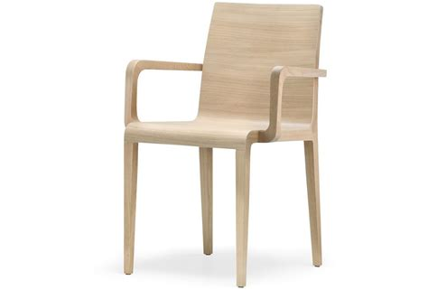 sedie con braccioli sedia 425 con braccioli in legno multistrato curvato
