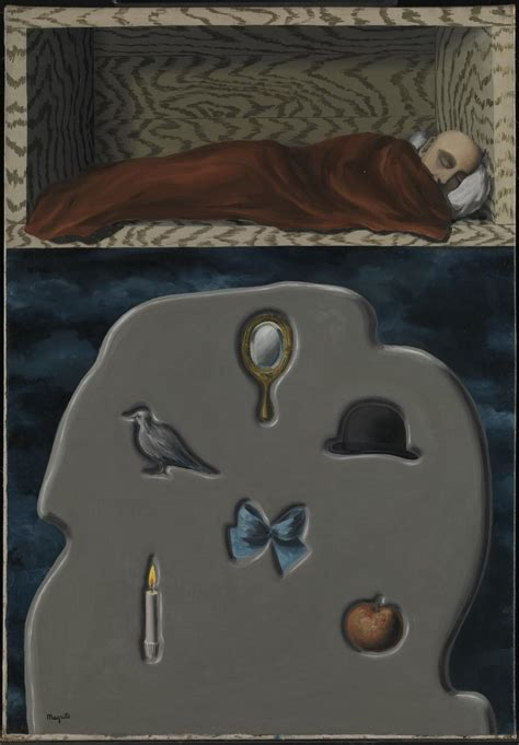 le dormeur the reckless sleeper ren 233 magritte tate