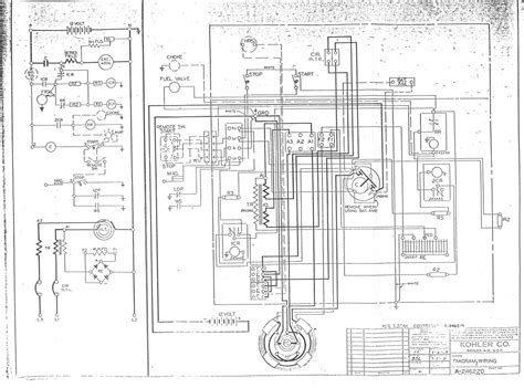 kohler rv generator wiring diagram simple wiring diagrams