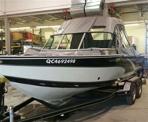 alumacraft boats dealers alumacraft trophy 195 2014 used boat for sale in varennes