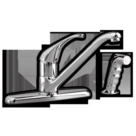standard reliant kitchen faucet standard reliant plus kitchen faucet with side