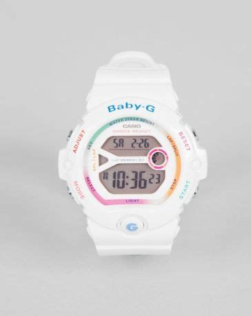 casio baby g white rainbow digital baby g co