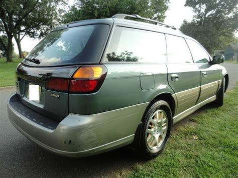 subaru outback h6 3 0 fuel consumption find used 2002 subaru outback l l bean wagon 4 door 3 0l