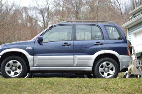 Suzuki Grand Vitara Leak Sell Used 2000 Suzuki Grand Vitara Jlx Plus Sport Utility