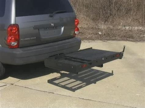 power chair hitch carrier rubert and work build wooden r car