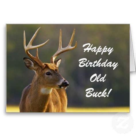 Deer Themed Home Decor by Hunting Funny Buck Animal Camo Happy Birthday 3 Greeting