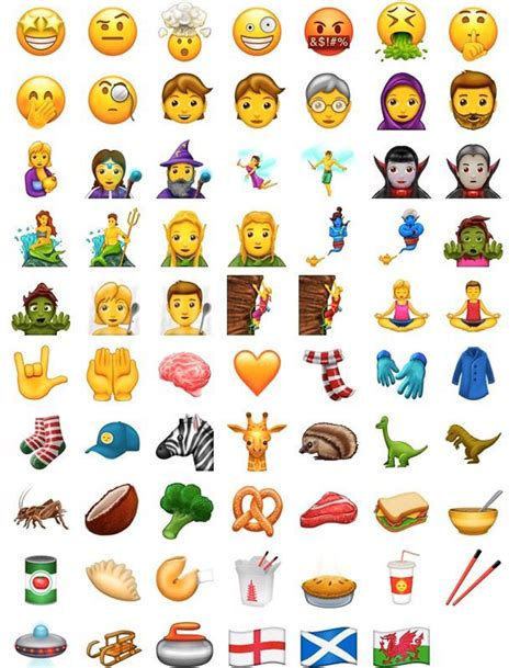 new iphone emojis for android les nouveaux 233 mojis 2017 arrivent et ils vont vous rendre fous