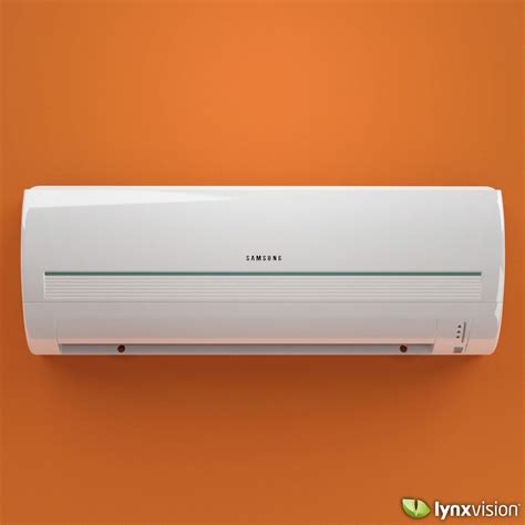 Ac Samsung Model As05tulnxea samsung split air conditioner 3d model max obj fbx c4d