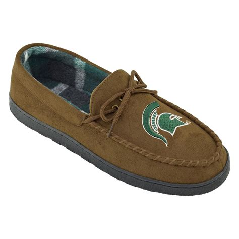 michigan state slippers ncaa s michigan state spartans brown