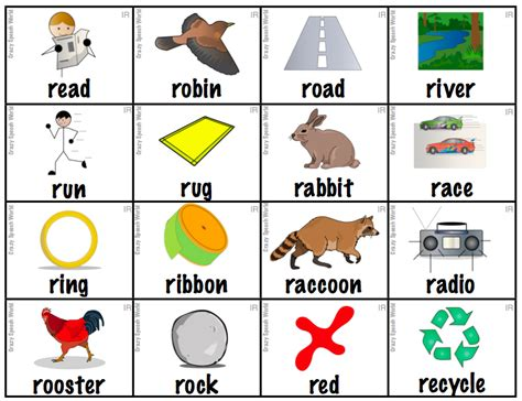 4 Letter Words Beginning With R read and say beginning with letter r preschool crafts