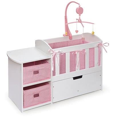 crib and changing table plans