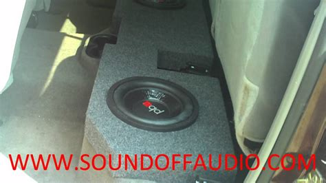DODGE RAM QUAD CAB Speaker Box 2002 to 2012   YouTube