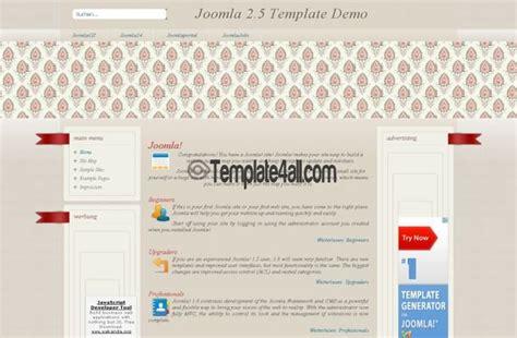 brown grunge vintage joomla template