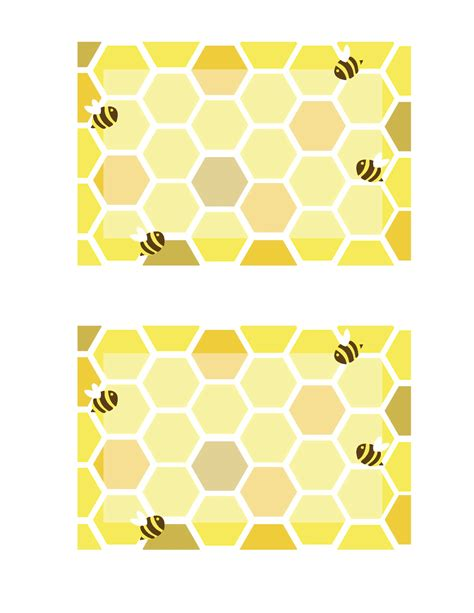 honey bee template everyday honeybee printables