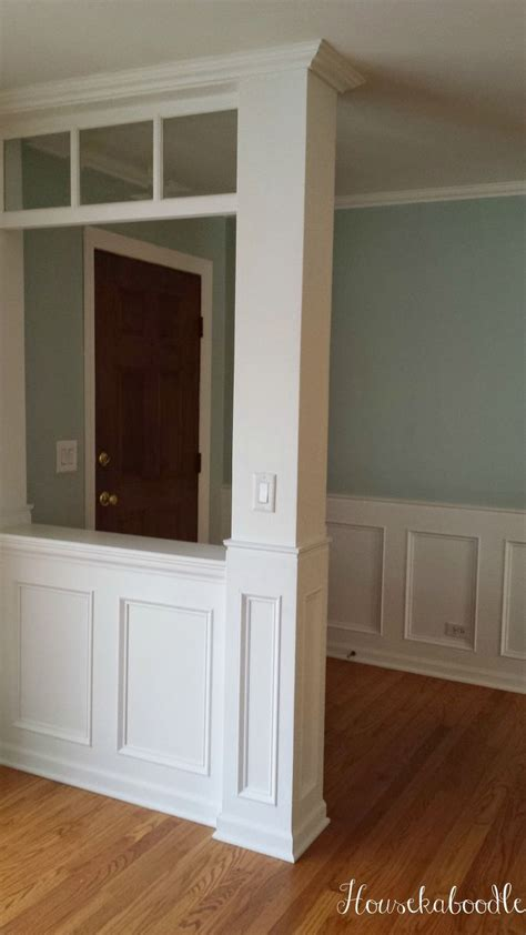 How To Make Wainscoting by Hometalk How To Make A Recessed Wainscoting Wall From