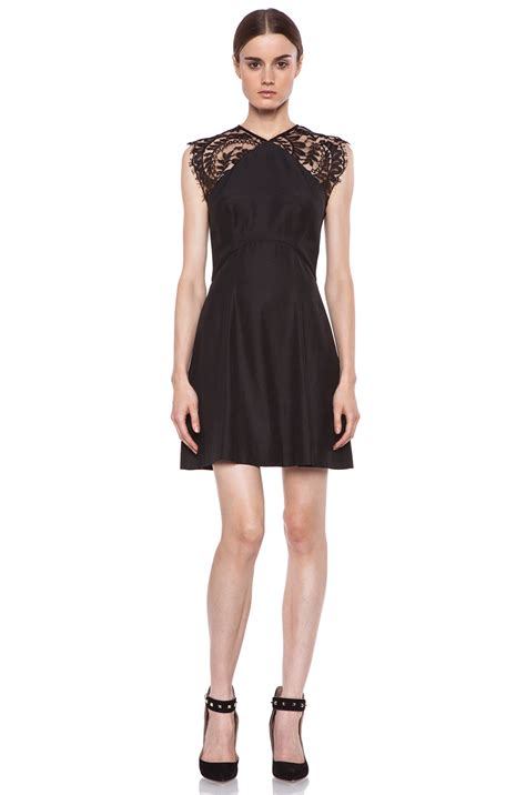 lover aline dress in black lyst