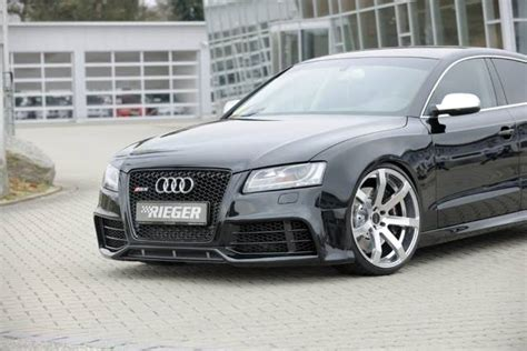 Audi A5 Sportback Tuning by Audi A5 Sportback By Rieger Tuning 4 Audi Tuning Mag