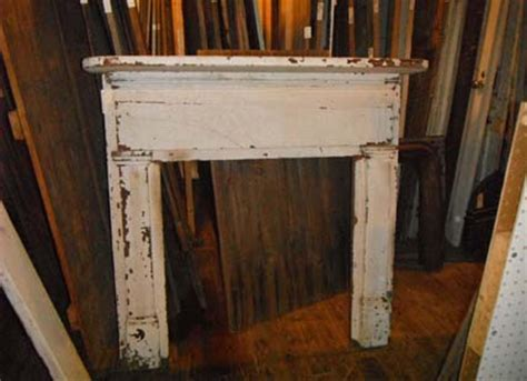 Salvaged Fireplace Mantels For Sale by White Mantel With Reeding Beaverdam Custom Builders