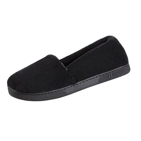 isotoner microterry slippers isotoner microterry espadrille slippers boscov s