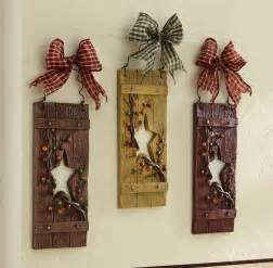 Rustic Kitchen Wall Decor by Country Hanging Wall Decor Set