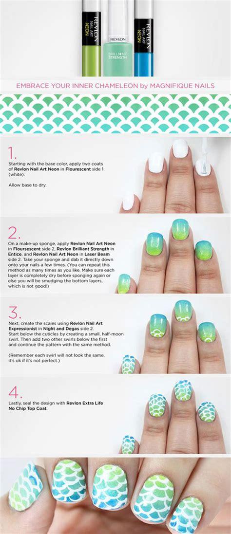 revlon nail art tutorial 20 easy step by step summer nail art tutorials for