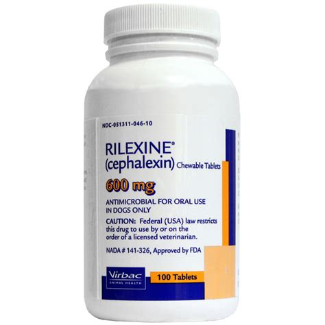 rilexine for dogs rilexine cephalexin 600mg per tablet
