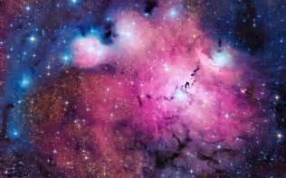 colors galaxy glow nebula pink planets sky space ufo