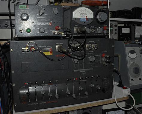 femto farad capacitor general radio gr 1620a capacitance ratio bridge pa4tim s opvangtehuis voor buizenbakken