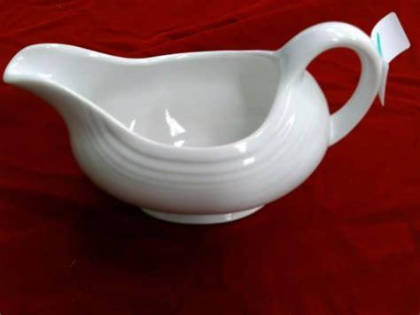 fiestaware gravy boat fiestaware gravy boat vintage pottery depression