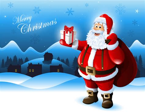 google images of santa claus elements of santa claus design vector graphics 01 vector