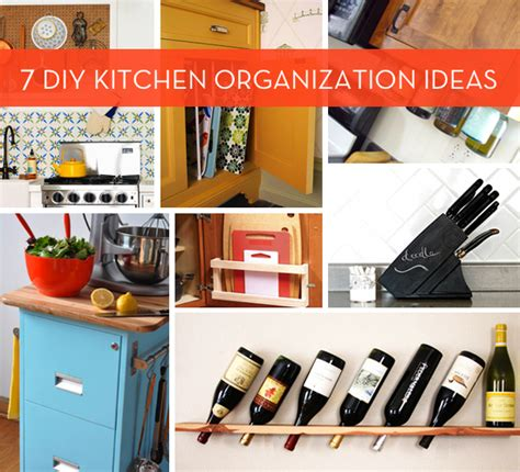 diy kitchen ideas 7 diy kitchen organization ideas curbly