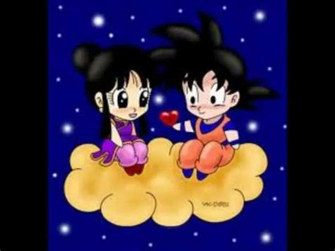 imagenes tiernas dragon ball z dragon ball z amor verdadero youtube