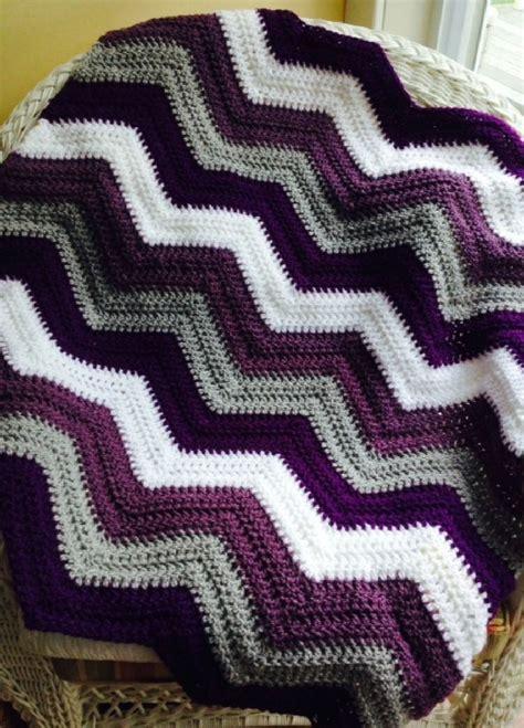 wave afghan in green and purple crochet throw blanket 25 unique crochet blankets ideas on pinterest crochet