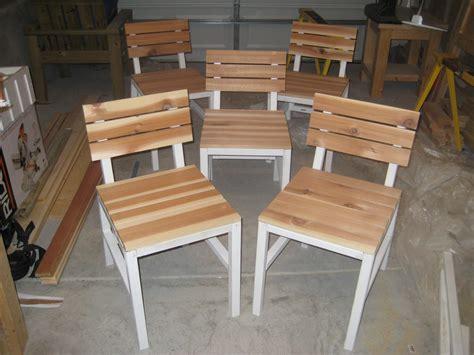 ana white harriet outdoor dining chair  cedar slats