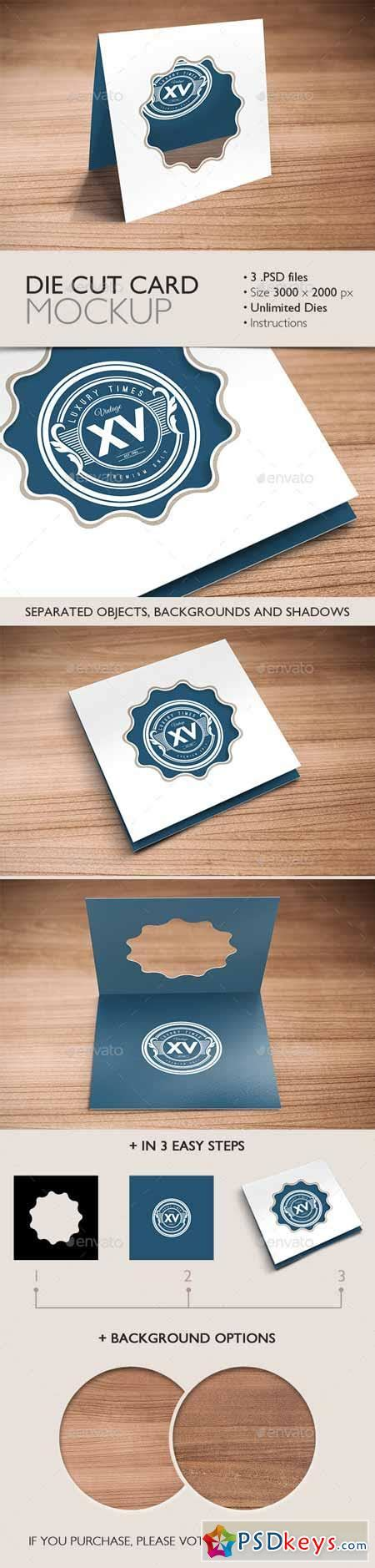die cut cards for card die cut card mockup 9598594 187 free photoshop