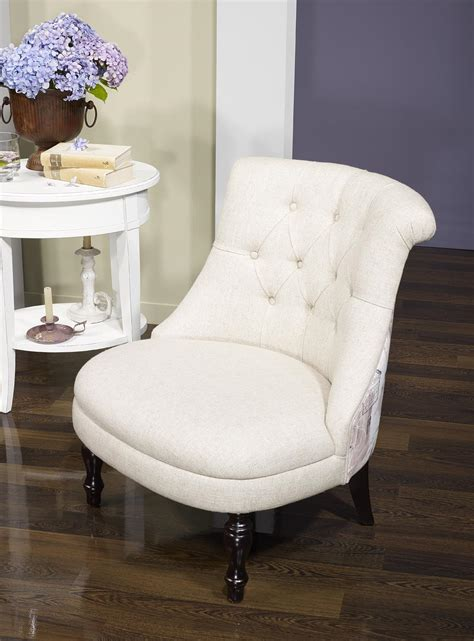 fauteuil crapaud en tissu capitonn 233 beige avec motif