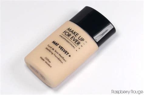 Mufe Mat Velvet 40 by Makeup Forever Mat Velvet Vs Estee Lauder Wear