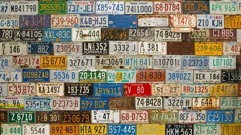 Find By License Plate Number Where Can I Find My License Plate Number Reference