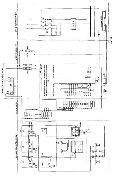 substation switchgear electrical wiring requirements