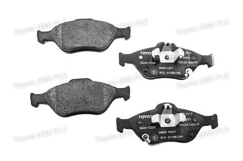 Brake Pad Yaris genuine toyota yaris hybrid front brake pads 04465yzzds ebay