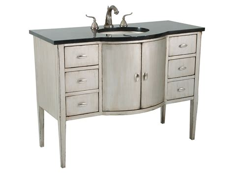 47 bathroom vanity 47 quot sterling bowfront single bath vanity bathgems com